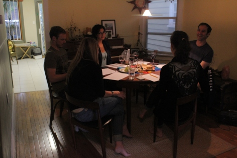 Table read with cast, Aug. 16, 2014