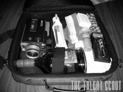 Oliver's travel tip: pack light, prepare for every occasion.