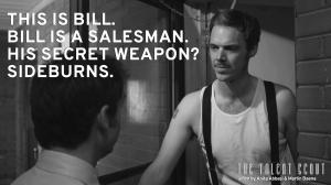 Bill salesman promo